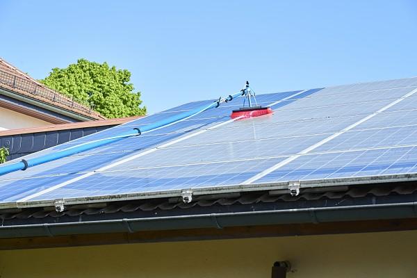Reinigung Photovoltaikanlage Geldern